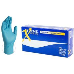 Xtreme Blue Extra Long Nitrile