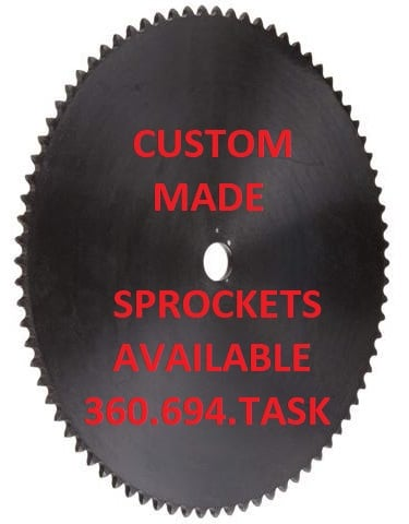 TASK Custom Sprockets